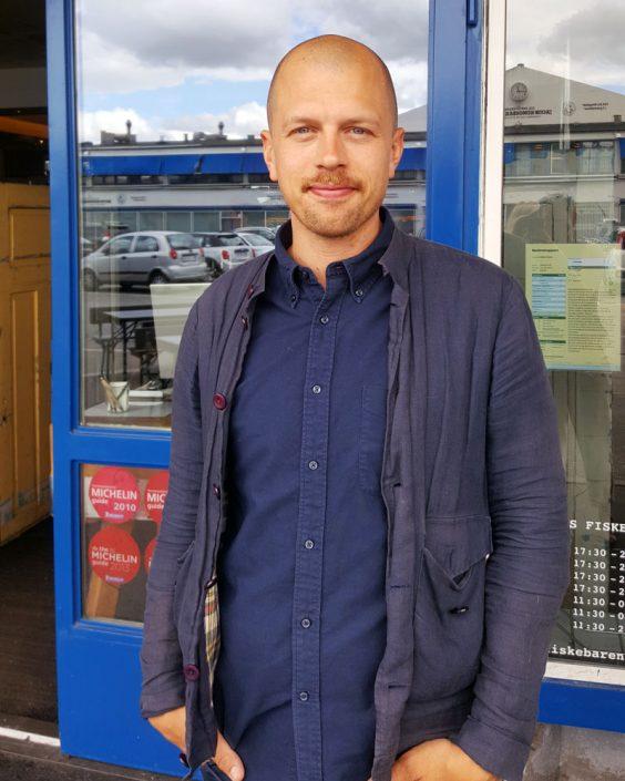 Erik Engblom, bookingansvarlig